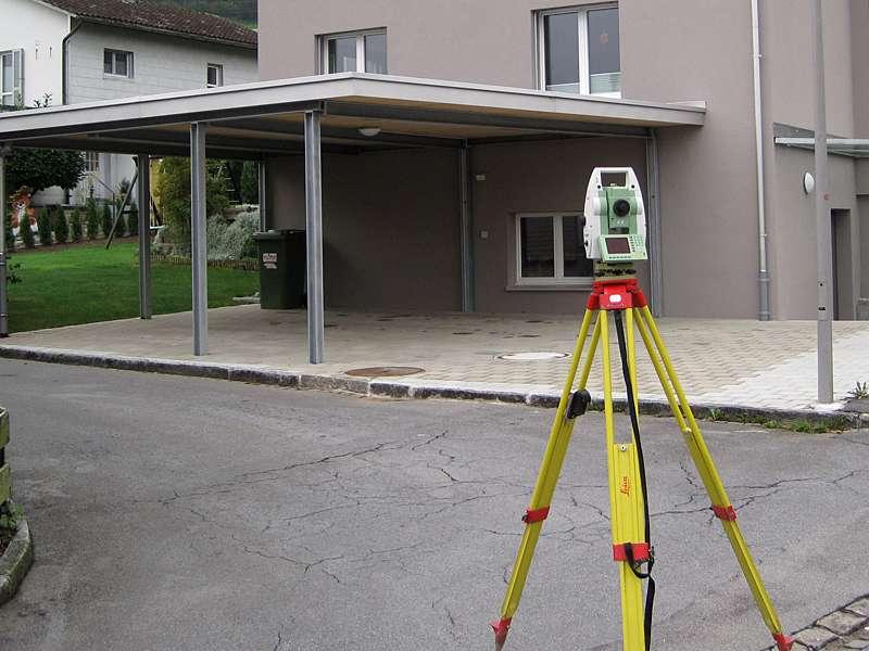 Geometer und Vermessung: Aufnahme der Bestandesänderungen bei Neu- und Umbauten inkl. Nachführung