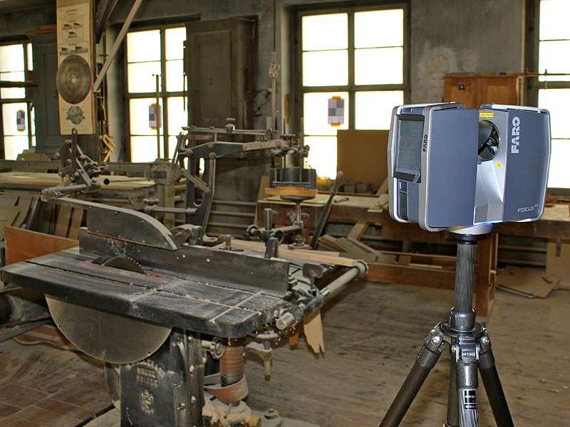 Vermessung: Indoor Laserscanning Architekturvermessung