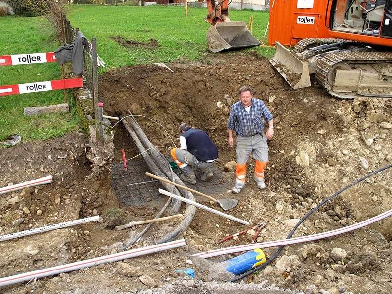 Bauingenieurwesen und Vermessung: Planung und Bauleitung von Erschliessungen mit Leitungsbau