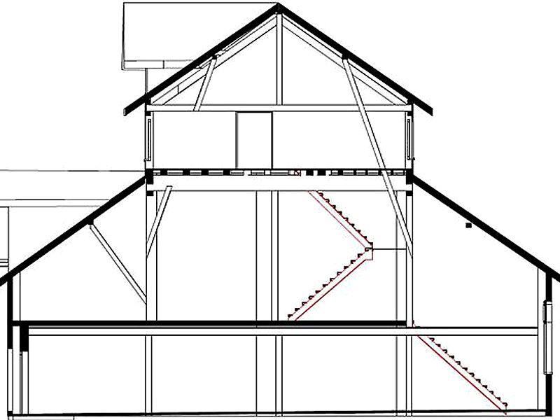 Vermessung und Geomatik: Planvisualisierung aus Laserscanning für Architekt und Bauherr